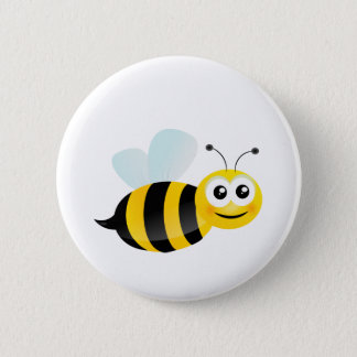 Cute Bee Button