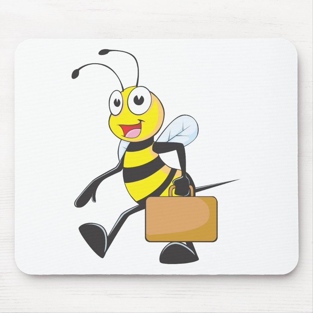Queen bumble bee cartoon