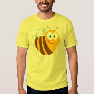 Cute Bee Cartoon Character T Shirt
