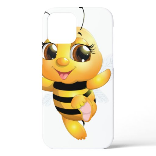 Cute bee iPhone 12 case