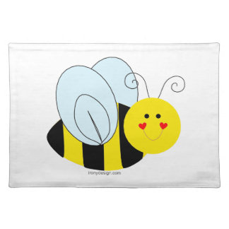 Cute Bee Cloth Placemat