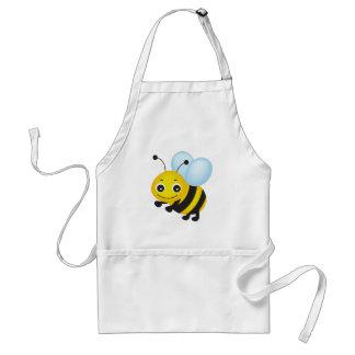 Cute bee design adult apron
