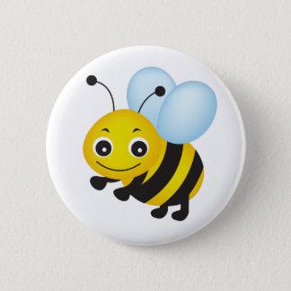 Cute bee design button