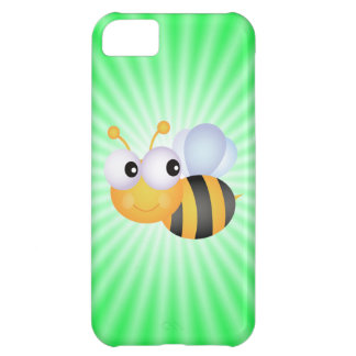 Cute Bee; Green iPhone 5C Cover