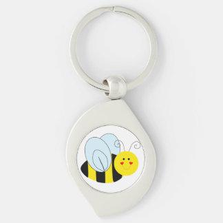 Cute Bee Keychain
