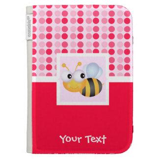 Cute Bee Kindle Folio Cases