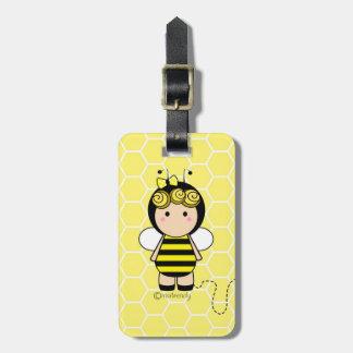 Cute Bee Luggage Tag