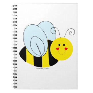 Cute Bee Notebook