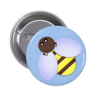 Cute Bee Party Favor Button