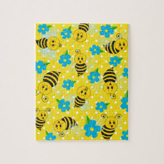 Cute Bee Puzzle