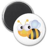 Cute Bee Refrigerator Magnet