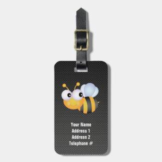Cute Bee; Sleek Bag Tag