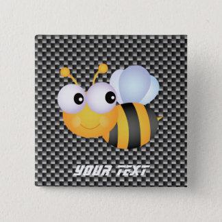 Cute Bee; Sleek Button