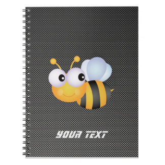 Cute Bee; Sleek Notebook