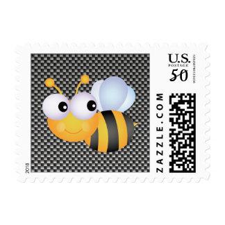 Cute Bee; Sleek Postage