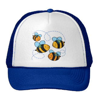 Cute Bees Trucker Hat