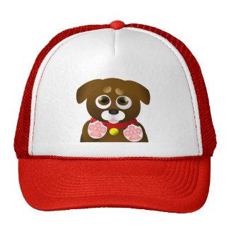 Cute Begging Puppy Trucker Hat