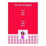 Cute Belly Dancer 5x7 Paper Invitation Card