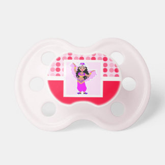 Cute Belly Dancer Baby Pacifiers