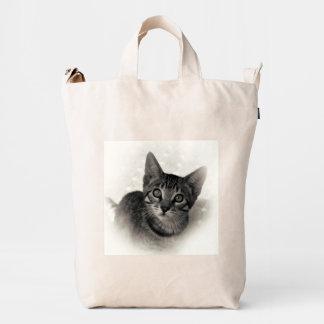 Cute Bengal Kitten Duck Bag
