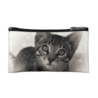 Cute Bengal Kitten Makeup Bag
