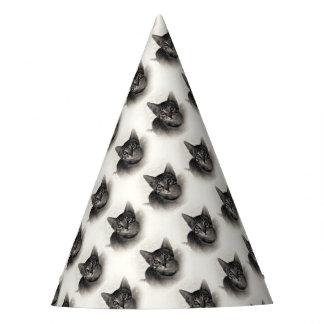 Cute Bengal Kitten Party Hat
