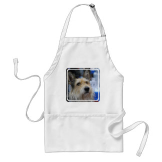 Cute Berger Picard Dog Adult Apron