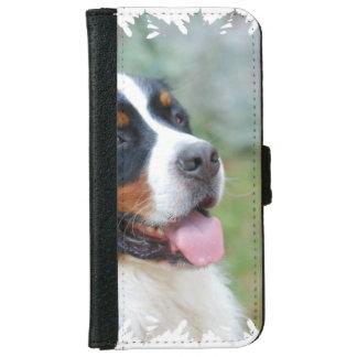 Cute Bernese iPhone 6 Wallet Case