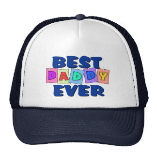 Cute Best Daddy EVER Hats
