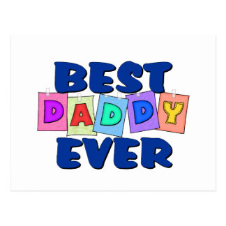 Cute Best Daddy EVER Post Card
