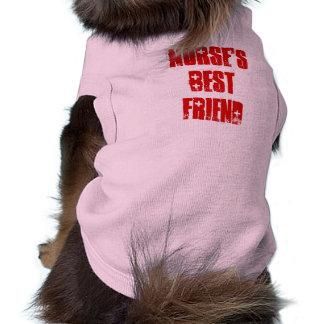 Cute Best Friend of Nurse Canine Tee