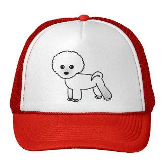 Cute Bichon Frise Cartoon Trucker Hat