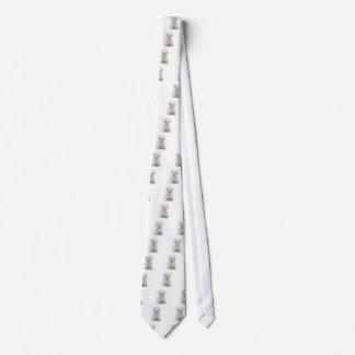 Cute Bichon Frise Men's Necktie