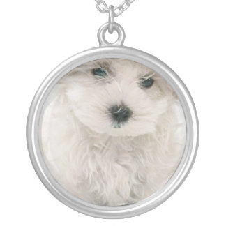Cute Bichon Frise Necklace