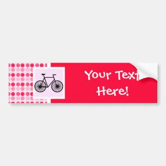 Cute Bicycle Bumper Stickers