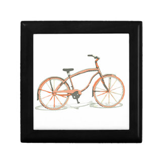 Cute bicycle jewelry box