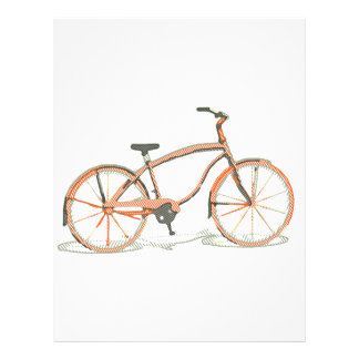 Cute bicycle letterhead