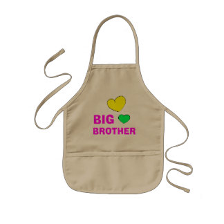 Cute Big Brother Gift Kids' Apron