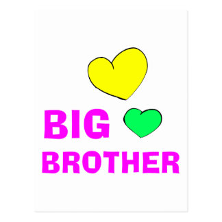 Cute Big Brother Gift Postcard