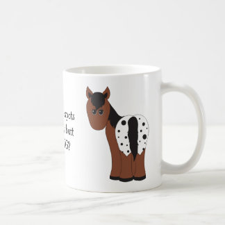 Cute Big Butt Blanket Appaloosa Funny Appy Horse Coffee Mug