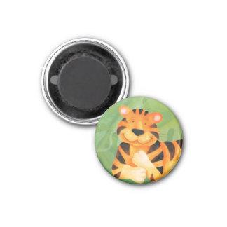 Cute big cat tiger everyday magnet