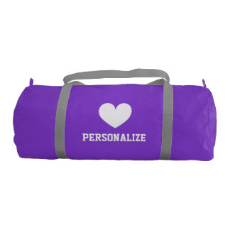 Cute big duffle bags for women and girls sports
