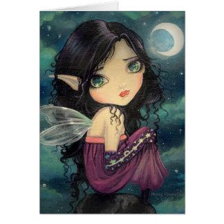Cute Big-eye Gothic Fairy Fantasy Art Cards