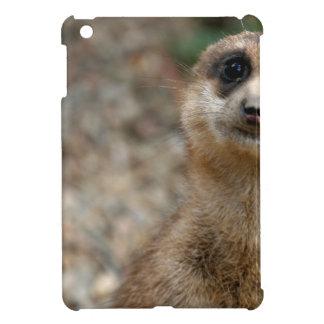 Cute Big-Eyed Meerkat iPad Mini Cover