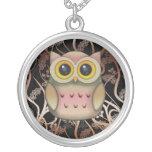 Cute Big Eye'd Owl Necklace