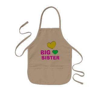 Cute Big Sister Kids' Apron