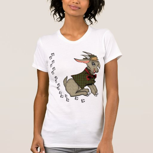 Cute Billy Goat with Bowtie Shirt