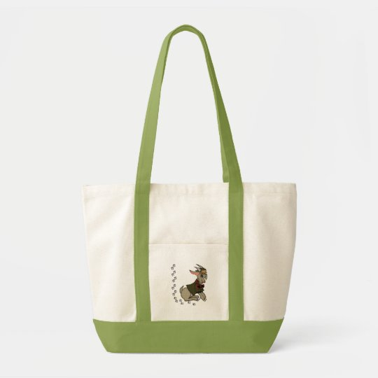 Cute Billy Goat with Bowtie Tote Bag