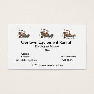 Cute Biplane Business Card