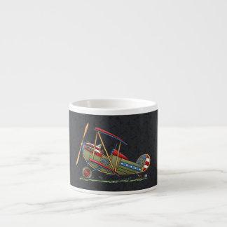 Cute Biplane Espresso Cup